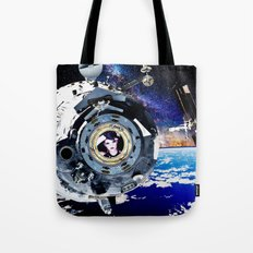 Objects in Space Tote Bag