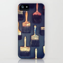 Brush iPhone Case