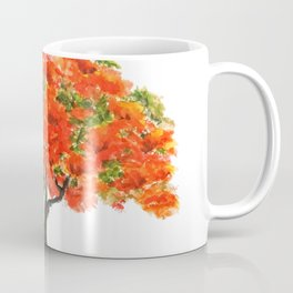 flame of the forest tree Coffee Mug