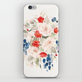 Loose Bouquet no. 2 iPhone Skin