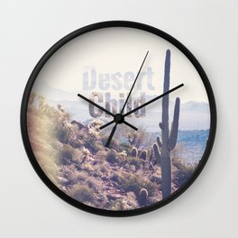 Desert Child Wall Clock