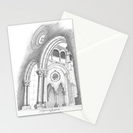 alcobaça arches Stationery Cards