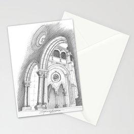 alcobaça arches Stationery Cards