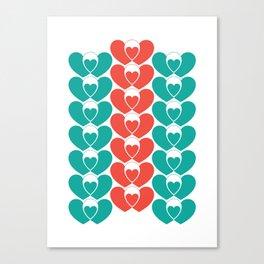 Family pattern Canvas Print
