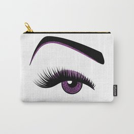 Purple makeup Carry-All Pouch