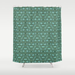 Fairy Foliage Shower Curtain
