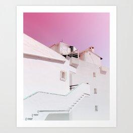 Urban Summer Art Print