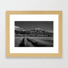 Emigrant Peak, No. 1 Framed Art Print