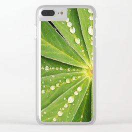 Botanical Mandala Clear iPhone Case