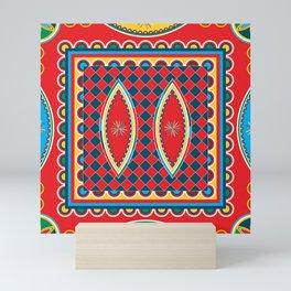 Najdi pattern Mini Art Print