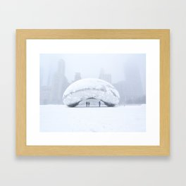 Super Bean Sunday (Cloud Gate) Framed Art Print