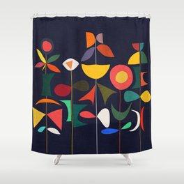 Klee's Garden Shower Curtain