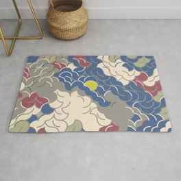 Abstract Geometric Artwork 83 Rug