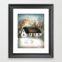 Peta's House Framed Art Print