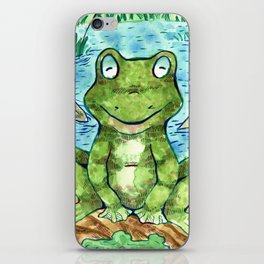 Chillin' Frogs iPhone Skin