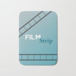 Film Strip Bath Mat