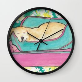 Olena's Princess Bed Wall Clock