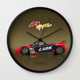 1996 McLaren F1 GTR #13R LARK Wall Clock
