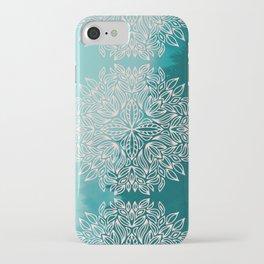 Mandala Forest Dawn iPhone Case