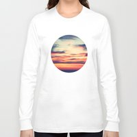 sunset Long Sleeve T-shirts featuring Sunset by JoanaRosaC