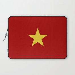 vietnam country flag star Laptop Sleeve