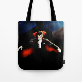 Dracula vampyre halloween Tote Bag