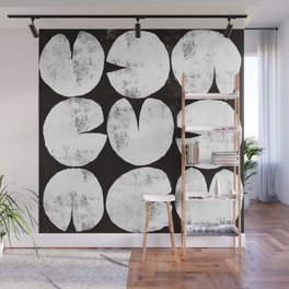 Abstract Lily Pads Wall Mural
