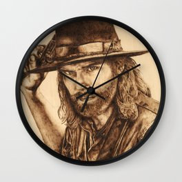 Hell on Wheels Inspired, Mr. Bohannon Wall Clock