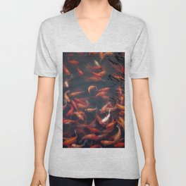 NATURE - FISH - WATER - ANIMALS Unisex V-Neck