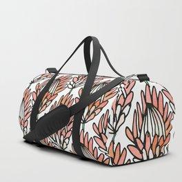 Protea Orange #homedecor Duffle Bag