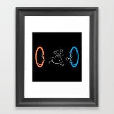 Forever Late Framed Art Print