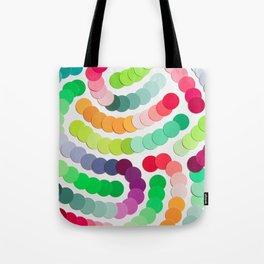 Structured Confetti Tote Bag