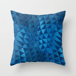 Deformation of Time and Space Throw Pillow