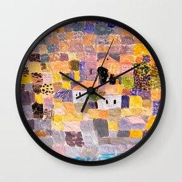 Paul Klee - Sicilian Landscape Wall Clock