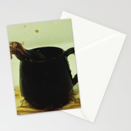 Drink coffee every morning to be better person Stationery Cards