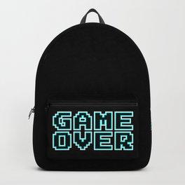 GAME OVER (blue) Backpack