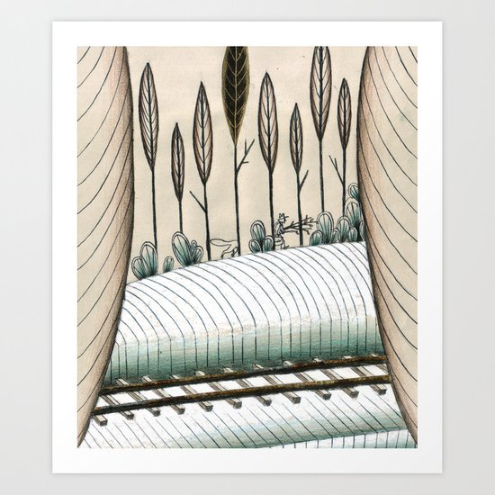 Jack London #2 Art Print