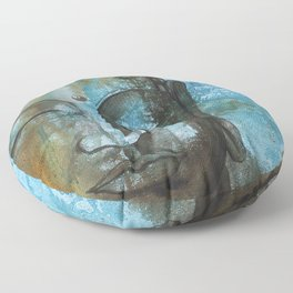 The Peace Floor Pillow