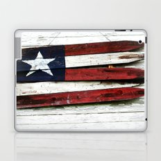 The Grand Ol' Wooden Flag Laptop & iPad Skin