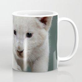 White lion cub Coffee Mug