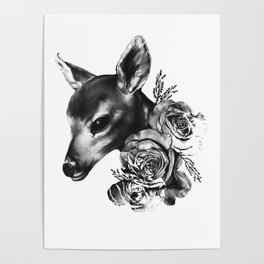 Fawn & Flora II Poster