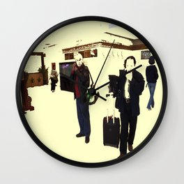 Ready To Commute Wall Clock