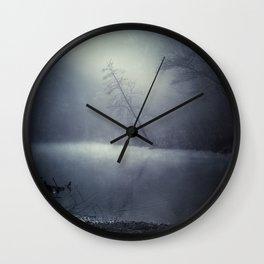 moon dust memory Wall Clock