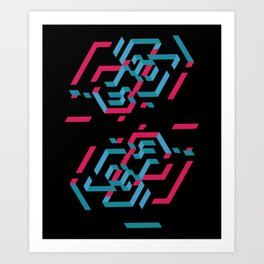 The web / La toile / Màn nhện Art Print