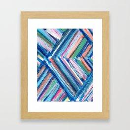 Modern Art Chevron Framed Art Print