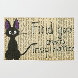 Find Your Own Inspiraton Rug