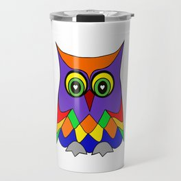 I Love Owls Travel Mug