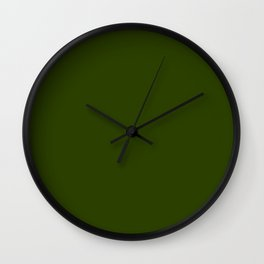 Verdun so naturally Green Wall Clock