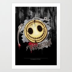 Totenknopf Art Print