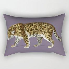 Fierce Jaguar Rectangular Pillow
